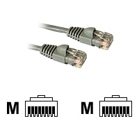 C2G Enhanced Cat5E 350MHz Snagless Patch Cable - Patch cable - RJ-45 (M) - RJ-45 (M) - 5 m - CAT 5e - moulded, stranded, snagless, booted - grey