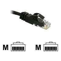 C2G Cat6 550MHz Snagless Patch Cable - Patch cable - RJ-45 (M) - RJ-45 (M) - 3 m - CAT 6 - moulded, stranded, snagless, booted - black