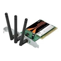 D-Link RangeBooster N 650 Desktop Adapter DWA-547 - Network adapter - PCI - 802.11b, 802.11g, 802.11n (draft)