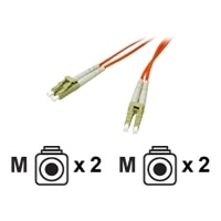 C2G - Patch cable - LC multi-mode (M) - LC multi-mode (M) - 15 m - fibre optic - 50 / 125 micron - orange