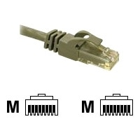 C2G Cat6 550MHz Snagless Patch Cable - Patch cable - RJ-45 (M) - RJ-45 (M) - 10 m - CAT 6 - moulded, stranded, snagless, booted - grey