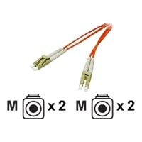 C2G - Patch cable - LC multi-mode (M) - LC multi-mode (M) - 2 m - fibre optic - 62.5 / 125 micron