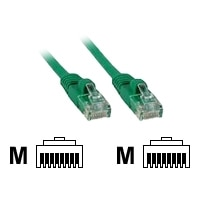C2G Enhanced Cat5E 350MHz Snagless Patch Cable - Patch cable - RJ-45 (M) - RJ-45 (M) - 50 cm - UTP - CAT 5e - moulded, stranded, snagless, booted - green