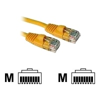 C2G Enhanced Cat5E 350MHz Snagless Patch Cable - Patch cable - RJ-45 (M) - RJ-45 (M) - 7 m - CAT 5e - moulded, stranded, snagless, booted - yellow