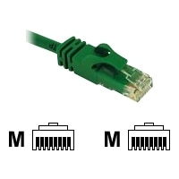 C2G Cat6 550MHz Snagless Patch Cable - Patch cable - RJ-45 (M) - RJ-45 (M) - 1.5 m - CAT 6 - moulded, stranded, snagless - green