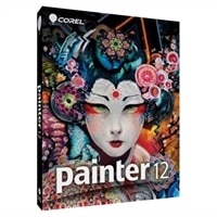 Corel Painter - (v. 12) - complete package - 1 user - DVD - Win, Mac - English