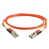 C2G - Patch cable - LC multi-mode (M) - LC multi-mode (M) - 20 m - fibre optic - 50 / 125 micron - orange