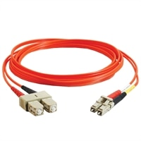 C2G - Patch cable - LC multi-mode (M) - SC multi-mode (M) - 20 m - fibre optic - 62.5 / 125 micron