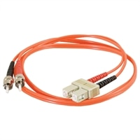 C2G - Patch cable - ST multi-mode (M) - SC multi-mode (M) - 1 m - fibre optic - 62.5 / 125 micron - moulded