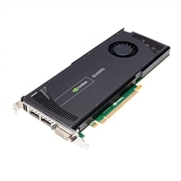 NVIDIA Quadro 4000 by PNY - Graphics card - Quadro 4000 - 2 GB GDDR5 - PCIe 2.0 x16 - DVI, 2 x DisplayPort - £1,083.85