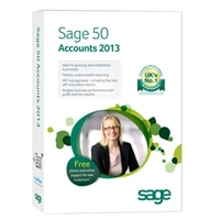 Sage 50 Accounts Professional 2013 - Licence + SageCover - 1 user, 1 company - Win - £1,259.33