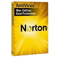 Norton AntiVirus Dual Protection for Mac - Complete package - 1 user, 2 PCs - CD - Mac - International