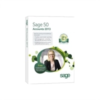 Sage 50 Accounts Plus 2013 - Complete package - 1 user - Win - United Kingdom