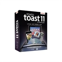 Roxio Toast Titanium - (v. 11) - complete package - 1 user - DVD - Mac - Multilingual - £67.54