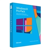 Microsoft Windows 8 Pro Pack - Product upgrade licence - 1 PC - upgrade from Microsoft Windows 8 - 32/64-bit - English International