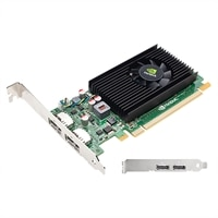 NVIDIA NVS 310 by PNY - Graphics card - Quadro NVS 310 - 512 MB DDR3 - PCIe 2.0 x16 low profile - 2 x DisplayPort (VCNVS310DP-PB)