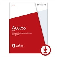 Microsoft Access 2013 - Licence - 1 PC - Download - Win - English - 32/64-bit, delivered via electronic distribution, Click-to-Run