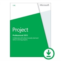Microsoft Project Professional 2013 – 1 PC – Download - £1,078.74