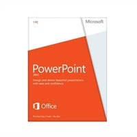 Microsoft PowerPoint 2013 - Licence - 1 PC - Win - English - 32/64-bit
