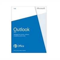Microsoft Outlook 2013 - Licence - 1 PC - Win - English - 32/64-bit - £110.34