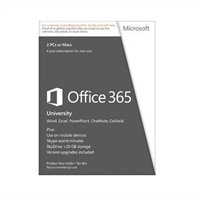 Microsoft Office 365 University - Subscription licence (4 Years) - 20 GB online capacity, up to 2 computers (PC) for one user - EDU - Win - English - Eurozone