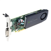 NVIDIA Quadro 410 by PNY - Graphics card - Quadro 410 - 512 MB DDR3 - PCIe 2.0 x16 low profile - DVI, DisplayPort - £181.45