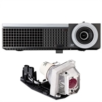 Dell 1510X Projector with Extra Lamp and 2-Year Advanced Exchange Warranty