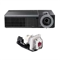 Dell 1610HD Projector with Extra Lamp and 2-Year Advanced Exchange Warranty