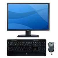 Dell UltraSharp U2412M 24-inch Widescreen Flat Panel Monitor with MK520 Wireless Desktop Keyboard and Mouse Bundle