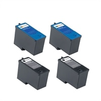 Dell V305 Ink Bundle: 2 x High-Capacity Black (Series 9) Cartridge, 2 x High-Capacity Color (Series 9) Cartridge