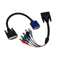 Dell M1-DA to BNC Adapter Cables for Dell 3200MP/ 3300MP/ 3400MP/ 4100MP/ 5100MP Projectors