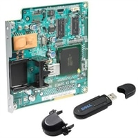 Multi-Protocol Card with Wireless Printer Adapter 3310 USB for Dell 3110cn Color Laser Printer