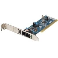V.92 56 Kbps Full Height Data Fax PCI Modem for Select Dell Inspiron / OptiPlex / Studio / XPS / Dimension Desktop / Latitude Laptop