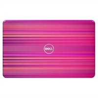 SWITCH by Design Studio - Horizontal Pink Lid for Dell Inspiron 17R (N7110) Laptops