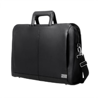 Dell Executive Leather Attache - Fits Laptops with Screen Sizes Up to 14-inch