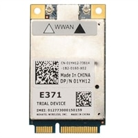 Dell Wireless 5804 LTE/4G Mobile Broadband Mini-Card for Dell Latitude E6230/ E6330/ E6430/ E6340 ATG/ E6530 Laptops