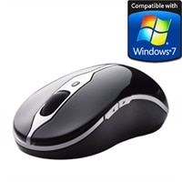 Dell 5-Button Bluetooth Travel Mouse - Glossy Obsidian Black