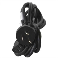 250 V United Kingdom Flat Power Cord - 6.56 ft