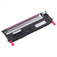 1,000 Page Magenta Toner Cartridge for Dell 1235cn Laser Printers