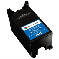 Dell Regular Use Standard Yield Color Cartridge (Series 21R) for Dell P513w/ P713w/ V515w/ V715w/  V313/ V313w All In One Printers