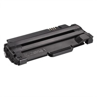 2500-Page Black Toner Cartridge for Dell 1130/ 1130n/ 1133/ 1135n Laser Printers