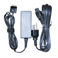 Dell 30-Watt AC Adapter with Power Cord for Dell Latitude 10 (ST2)/ ST / XPS 10 Laptops