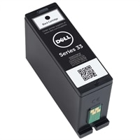 Single Use Extra-High Capacity Black Ink Cartridge (Series 33) for Dell V525w All In One Inkjet Printer