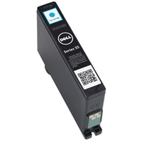 Single Use Extra-High Capacity Cyan Ink Cartridge (Series 33) for Dell V525w/ V725w All-in-One Wireless Inkjet Printer