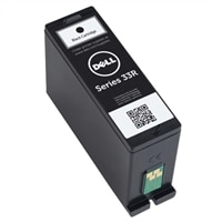 Dell Regular Use Extra-High Capacity Black Ink Cartridge (Series 33R) for Dell V525w/ V725w All-in-One Wireless Inkjet Printers