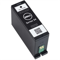 Dell Single Use Extra-High Capacity Black Ink Cartridge (Series 34) for Dell V725w All-in-One Wireless Inkjet Printer