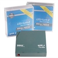 800 GB / 1.6 TB Tape Media for LTO-4 120 Tape Drive for Select Dell PowerEdge Servers / PowerVault Storages
