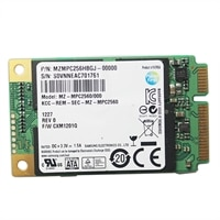 Dell OPAL Encrypted MSATA Solid State Hard Drive - 256 GB