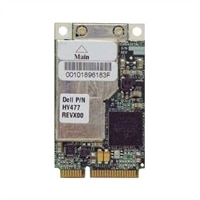 Dell 2.4/5 GHz Wireless 1505 PCI Express WLAN Mini Card for Select Dell Systems