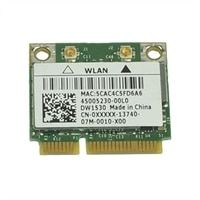 Dell Wireless 1530 (802.11a/b/g /n) Half Mini Card